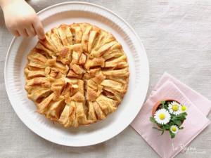 torta-di-mele-a-raggiera