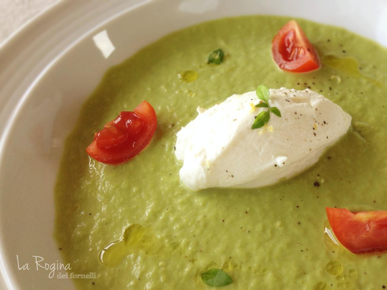 crema-di-asparagi-ricotta-pomodorini