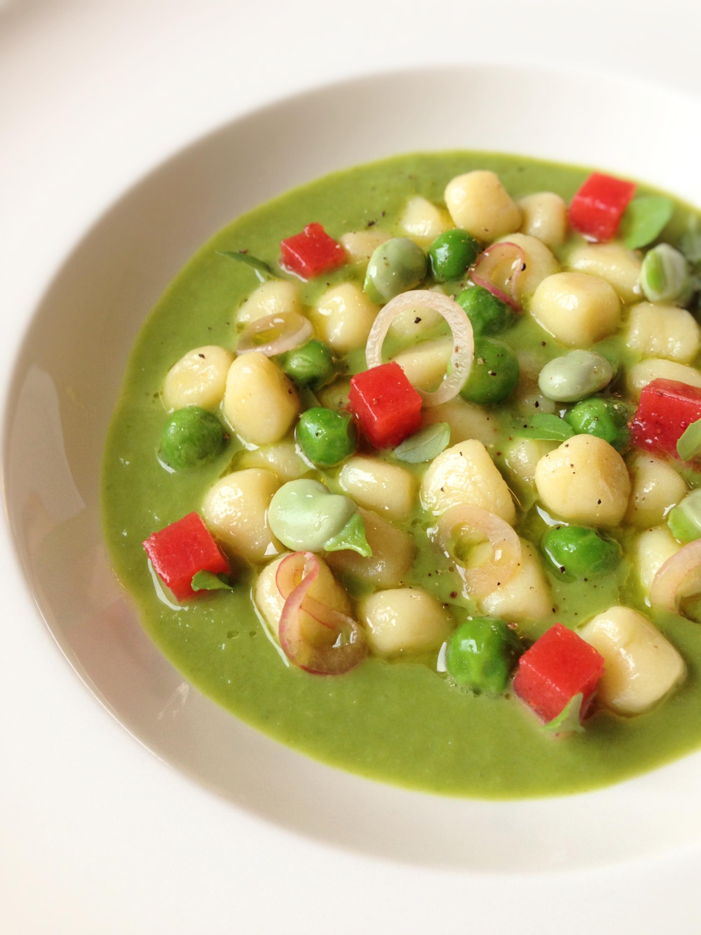 gnocchetti-verdure-dell-orto-e-gelatina-di-fragole
