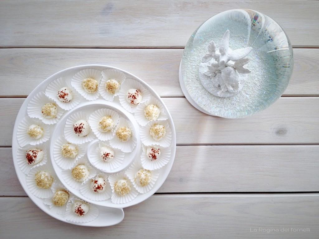 Tomini al sesamo e al peperoncino … e altri piatti semplici per il menù della cena in bianco